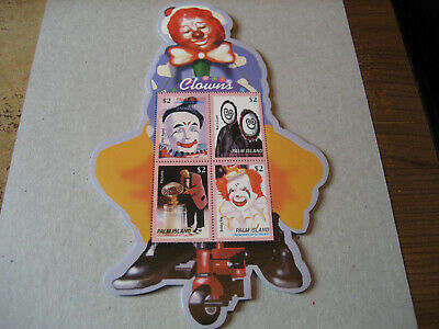 Palm Island Grenadines Of St. Vincent     2003  Clowns Circus Sheetlet