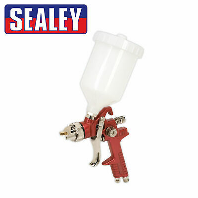 Sealey HVLP Gravity Fed Spray/Paint/Lacquer/Primer Gun 1.3mm Set-Up  - HVLP741