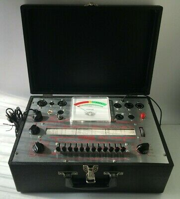 Tube Tester Conar Model 223 With Owners manual & Supplement Tube Chart Excellent