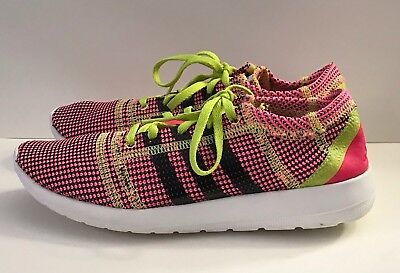 new style 982c2 b1e4c ADIDAS Womens 6.5 Element Refine Tricot Running Sneakers