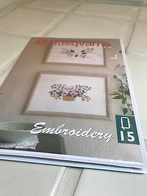 Husqvarna 1996 Sweden Embroidery 15 D-Card 3.5 FLOPPY