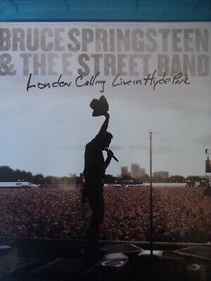 BRUCE SPRINGSTEEN - London Calling - Live Hyde Park 2009 BLURAY AS NEW!