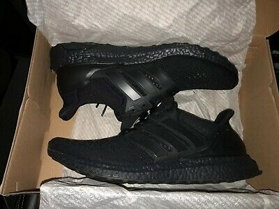 6cdbd4de8 Adidas Ultra Boost 1.0 LTD Limited Triple Black BB4677 Size Men s 11.5