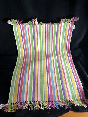 Pier 1 Imports NWT Easter Spring DINNER TABLE STRIPED PLACEMAT