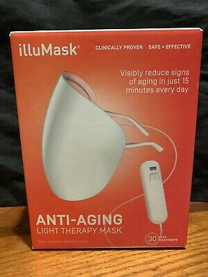 NEW SEALED - illuMask Anti-Aging Light Therapy Mask, 30 Daily Treatments