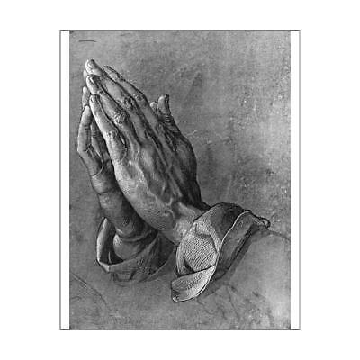 "10""x8"" (25x20cm) Print of Praying Hands from"