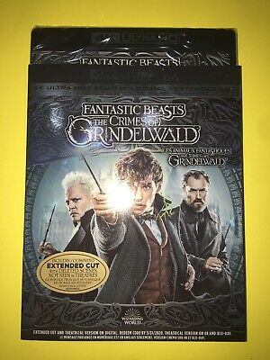 Fantastic Beasts - The Crimes of Grindelwald 4K ULTRA HD Combo with SLIPCOVER