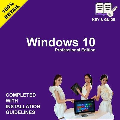 Windows 10 Pro 64/32 bit + Link Download + Genuine key Lifetime, [Fast Delivery]