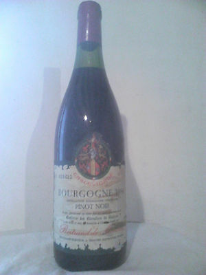 Bourgogne Pinot Noir Bertrand De Monceny 1986 Bourgogne Rouge Numerotee