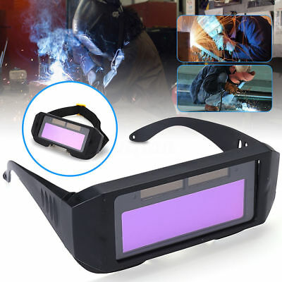 Auto Solar Darkening LCD Mig Mask Welding Glasses 2 Way Goggles Helmet Eyes AU
