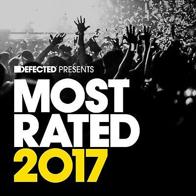 Defected Pres. Most Rated 2017 Softpak (Mike City,...) 3 Cd New