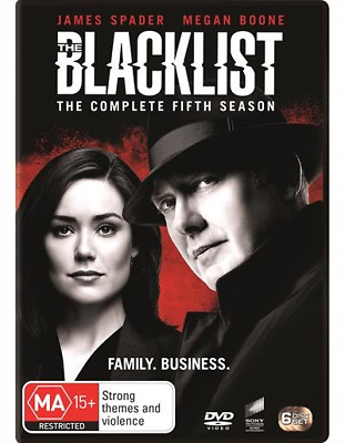 The Blacklist : Season 5 : NEW DVD