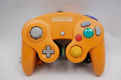 Nintendo GameCube Orange Spice Controller DOL-003 Official OEM Original, Tested