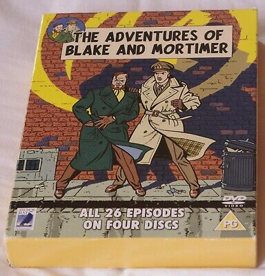 The Adventures Of Blake And Mortimer 2006 Anchor Bay 4 Dvd Set