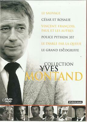 Collection Yves Montand - 6 films - COFFRET 6 DVD NEUF SOUS BLISTER