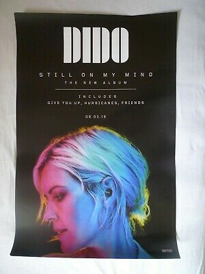 Dido – Still On My Mind OFFICIAL BMG PROMO POSTER 470mm x 705mm TO FRAME