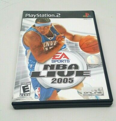 NBA Live 2005 (Sony PlayStation 2, 2004)  I-621