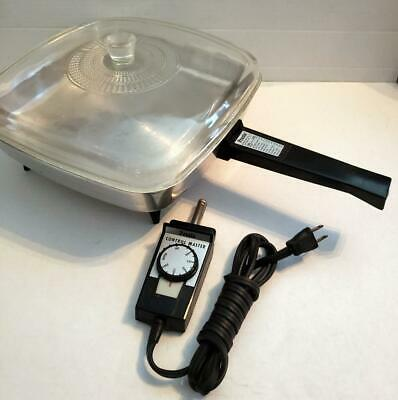 Vintage Presto SS-32 Automatic Electric Frying Pan / Skillet Nice Condition