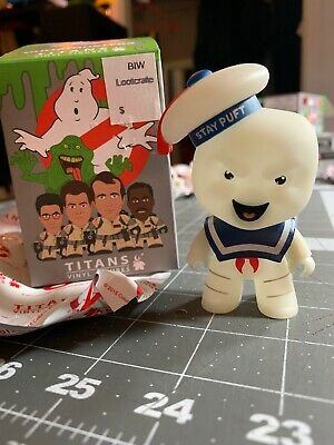 Ghostbusters Stay Puft Marshmallow Man Glow Titans Vinyl Action Figure Blind Box