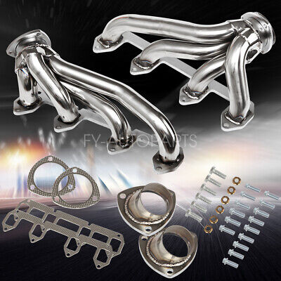 STAINLESS SHORTY HEADER Exhaust Manifold FOR Ford LTD Galaxie Big