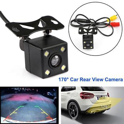 170 Degree Car Rear View Camera Parking Assistance CCD LED Backup Light