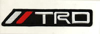 For TRD Toyota Motor Sport Racing Car Automobile P656 Embroidered Iron on Patch