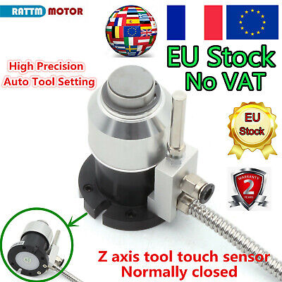 CNC Router Mach3 setting probe Z Axis automatic tool touch sensor setting gauge