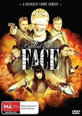 Bullet In The Face (DVD, 2013) new, sealed