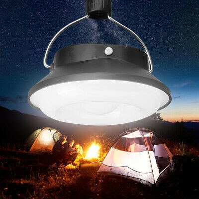 Portable Solar Powered 28 LED Camping Hiking Tent Light Rechargeable Night Lamp