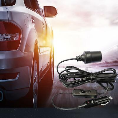 Car Cigarette Cigar Lighter Extension Adapter Plug Cable Cord Lead Socket
