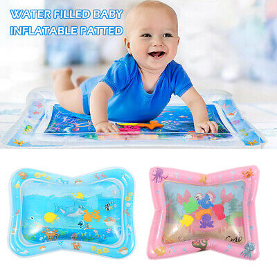 Baby Inflatable Patted Pad Water Cushion Play Mat Ocean Fish Toy Early Education