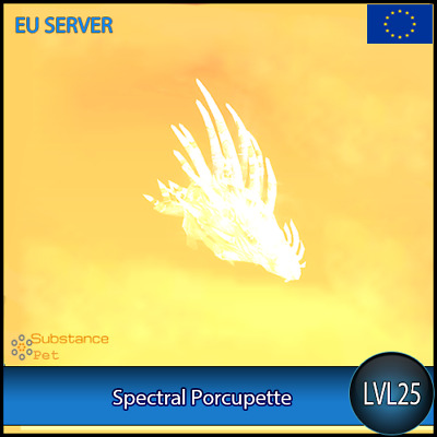 Spectral Porcupette (blue color) lvl25 Pet | All Europe Server | WoW Warcraft