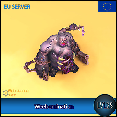 Weebomination lvl25 Pet | All Europe Server | WoW Warcraft