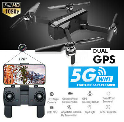 SJRC F11 RC Drone Quadcopter Foldable Brushless GPS 5G WiFi FPV 1080P HD Camera