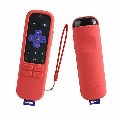 For Roku Streaming Stick Plus 3800R / 3810R Enhanced Voice Remote Silicone Cover