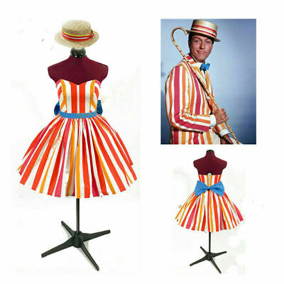 Adult Mary Poppins Bert cosplay costume dress hat custom made