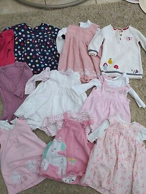 Girls 3-6 Months Dress Bundle Outfit Sets. Next. Mothercare