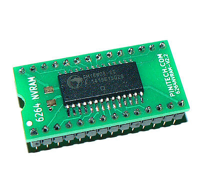 6264 NVRAM Battery Eliminator for Williams / Data East / Stern Pinball Machines