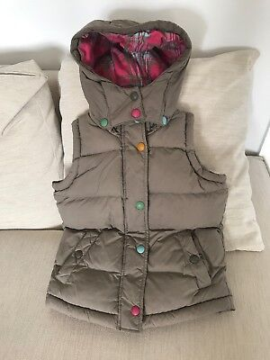 Girls Joules Gilet Age 8 Yrs