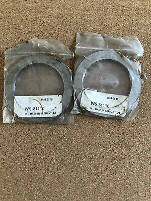 SHAFT THRUST HOUSING  WASHER WS81110 MADE IN GERMANY  WS 50mm  X 70mm X 4mm