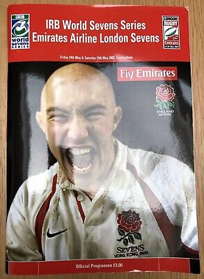 Emirates Airlines London Sevens Tournament Programme May 2002