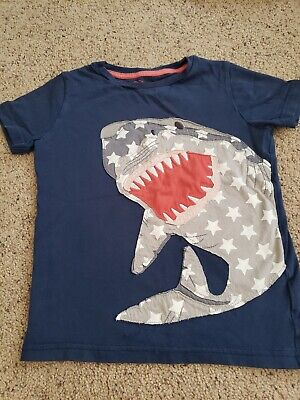 Mini Boden boys pajamas cosy long john age 10 years sharks NEW RRP $38