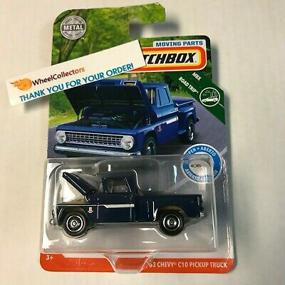 '63 Chevy C10 Pickup Truck * 2019 Matchbox Moving Parts * Case C * T6