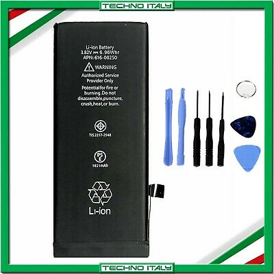 BATTERIA PER APPLE IPHONE 8 1821mAh RICAMBIO PARI ALL'ORIGINALE + KIT SMONTAGGIO