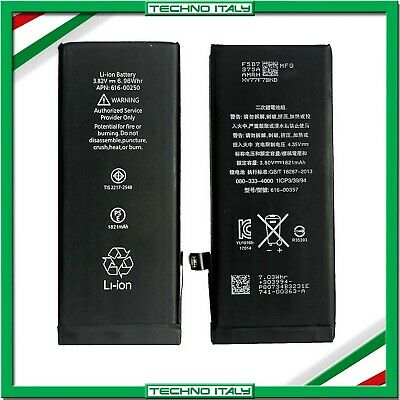 BATTERIA PER APPLE IPHONE 8 1821mAh RICAMBIO PARI ALL'ORIGINALE