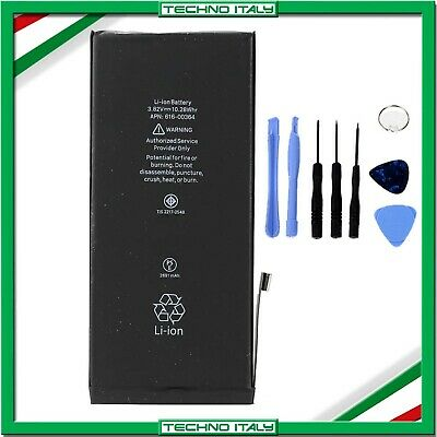 BATTERIA PER APPLE IPHONE 8 PLUS 2691mAh RICAMBIO PARI ORIGINALE +KIT SMONTAGGIO