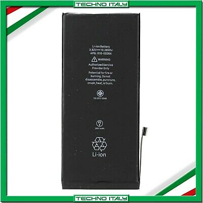 BATTERIA PER APPLE IPHONE 8 PLUS 2691 mAh RICAMBIO PARI ALL'ORIGINALE