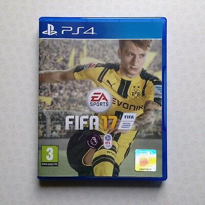 FIFA 17, PS4, Playstation 4 *Used - Near mint condition*