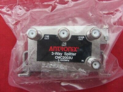 Lot of 25 Antronix HS-3A10S 3 Way Splitter 5-1000MHz NIB
