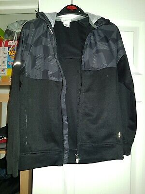 H & M sports Top Boys Black And Grey Age 8 - 10 YEARS